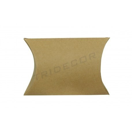 Buste di cartone per i regali di colore avana 12x11x3.6cm 50 unità