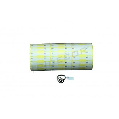 014409 Etiqueta para joyería 1300 unidades. Tridecor