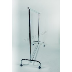 Rack fixed bar oval extendable