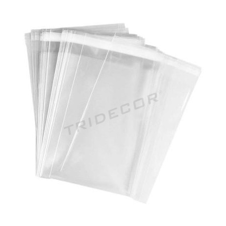 袋7X20+4CM翼板的粘合剂,100UDS