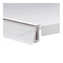 013189 Portaprecio para estantería metalica 90 cm. Tridecor