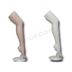 Pierna de plastico para medias, tridecor