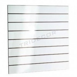 Panel blades, gloss white 120x120 cm Tridecor