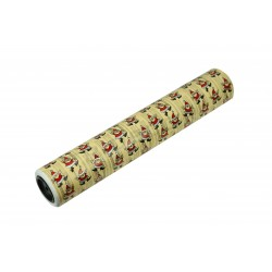 Gift wrapping paper santa claus fund cream 62cm