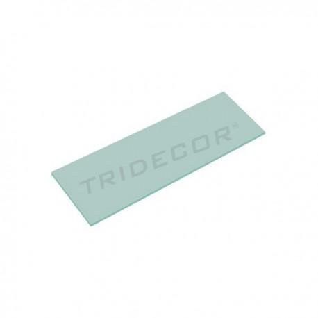 磨砂玻璃的6毫米. 120 35厘米x,tridecor