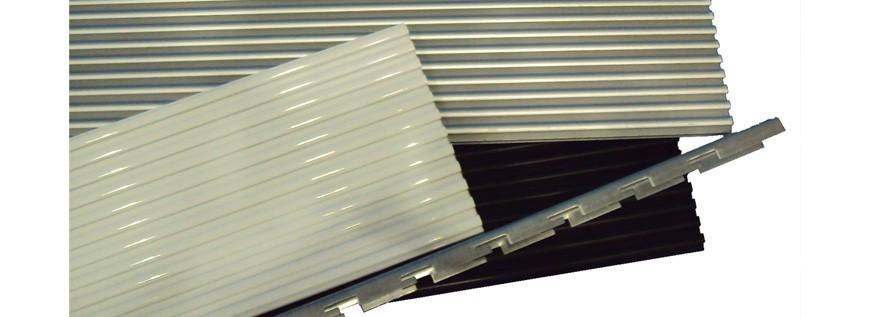 Paneele aus aluminium