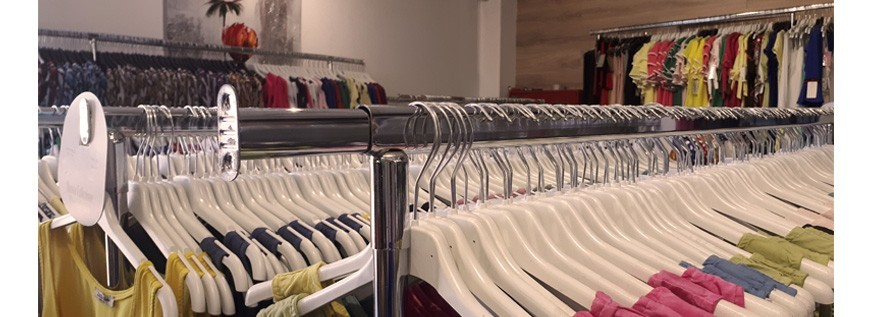 Clothes racks and hangers