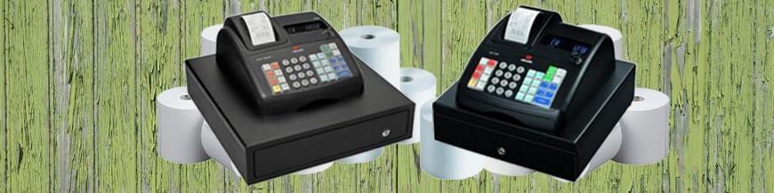 Caixas registadoras e acessórios