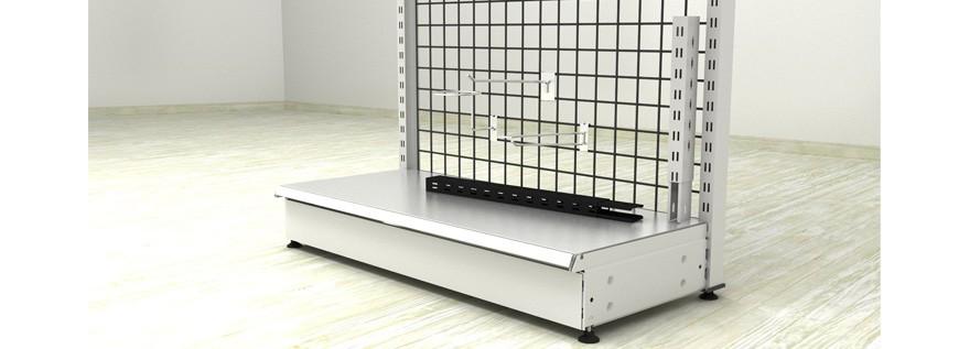 Accesorios de estanterías metálicas